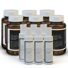 UltraColl Collagen. Nano Cream & 1000mg tablets - 2 anti-aging wonder treatments
