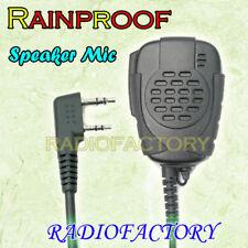 RainProof Speaker Mic for Wouxun KG-UVD1P DTMF TG-UV2 TH-UVF1 JT-988 KG-833