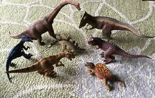 7 Schleich Dinosaur Toy Lot Large Prehistoric Figures Collectibles Rare Retired