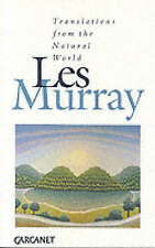 Translations from the Natural World,Murray, Les A.,Good Book mon0000099442