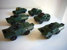 Corgi Junior: V100 Commando, Daimler Scout Car, Land Rover job lot, made in GB