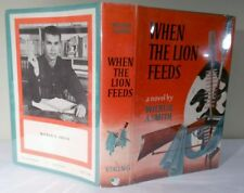 Wilbur Smith, When the Lion Feeds, Signed First Edition, Unique!