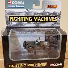 2003 Corgi Willys MB 1/4 Ton 4x4 Utility Jeep #CS90076 Fighting Machines