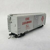 HO Scale Varney EL Erie Lackawanna 40' Box Car #73510 RTR Model Train