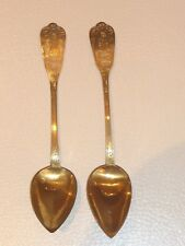 Antique Austro-Hungarian Empire Silver Spoons Bearing the Diana's Head Mark