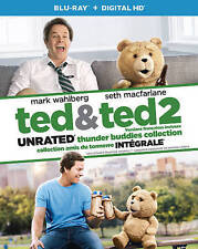 Ted/Ted 2 (Blu-ray Disc, 2015, 2-Disc Set, Canadian)