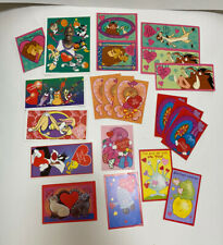 Vintage Valentines Card Lot Assorted Lion King Space Jam Tweetie Bird Kawaii
