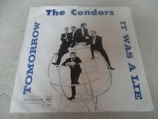 THE CONDORS TOMORROW 45 DUTCH RARE