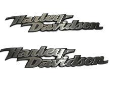 ORIGINALE H-D HARLEY-DAVIDSON EMBLEMA SERBATOIO SERBATOIO cartelli EMBLEMA SERBATOIO * Set 62309-06 *