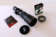 Vivitar Series 1 500mm f/8.0 Lens (V-500-PRE) with T- mount adapter New -Other