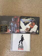 Michael Jackson Cd Lot History, Number Ones,  Thriller