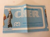 Cher Vintage 1976 Mego Doll Designer Collection Booklet Insert