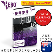 Tempered Glass Samsung S5 / S4, Genuine HeroTech. Defender Glass protector SALE