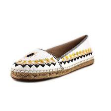Women's Leather Espadrilles Shoes