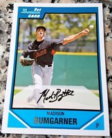 MADISON BUMGARNER 2007 Bowman 1st Rookie Card RC San Francisco Giants HOT MVP