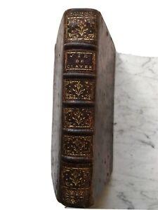 """1751, Colombie Esclaves """"Vie du Père Pierre Claver"""" Esclavagisme Rare Carthagène"""