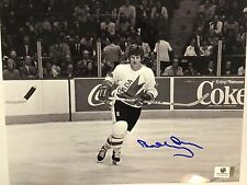 BOBBY ORR Boston Bruins Black and White Signed Autographed 8x10 Photo NHL COA