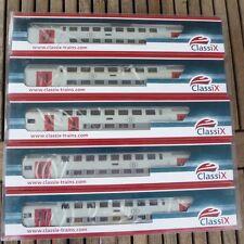 Classix Train Technology 6006 Heris Set 5x SNCB Doppelstockwagen Typ M 6 Ep.5/6