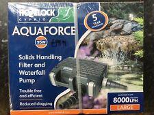 Hozelock Aquaforce 8000 Pond Pump Koi