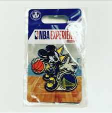 Disney Mickey Mouse NBA Experience Pin GOLDEN STATE WARRIORS Brand New!!
