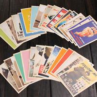 32PCS Retro Vintage Star Landscape Advertising Postcards Cards Set Posters Art
