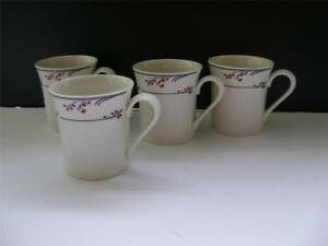 "Nice Set of 4 Mugs in ""Greenwich"" Design by Royal Doulton."