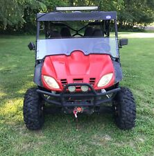 2015 ODES Dominator Crew Cab 4x4 UTV  Side by Side Pwr Tilt Bed Dual Winches
