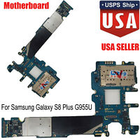 For Samsung Galaxy S8 Plus SM-G955U 64GB Main Motherboard Unlocked Replacement