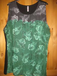 40 bis 52 Kurzarm Rosa NEU Sheego Shirt Top Tanktop Damen Gr 380