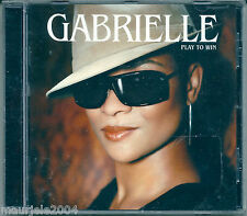 Gabrielle. Play to Win (2004) CD NUOVO Ten Years' Time. Stay The Same. Sometimes