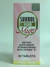 1 SUKROL VIGOR WOMAN DIETARY SUPPLEMENT 30 TABS / SUKROL VIGOR MUJER