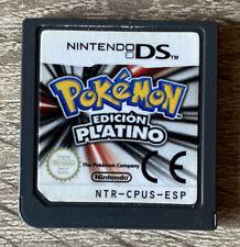 Pokémon Edición Platino Nintendo DS PAL España