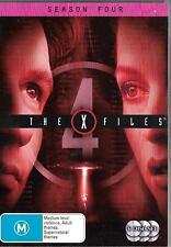 X-Files 6dvd set- The Complete Season Four / 4