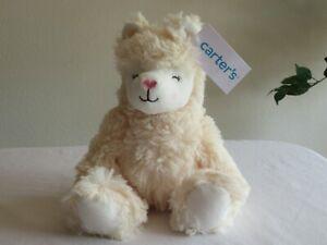 "NWT Carters Plush Toy Stuffed Animal Baby Llama 8"" Jungle Safari Wild"