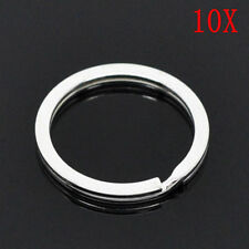 25mm Metal Key Rings Split Rings Heavy Duty Keychain Accessories Gift 10pcs