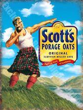 Scott's Porage Oats Breakfast Food Cafe Kitchen Old Shop Novelty Fridge Magnet