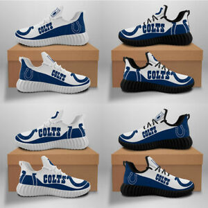 Indianapolis Colts Fan Lightweight Breathable Sneakers Gym Hiking Jogging Shoes