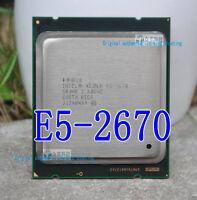 Intel Xeon E5-2670 8 core / 16 threads / 2.60Ghz / 20MB / 2011 desktop processor