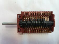 Genuine SMEG Oven Function Selector Switch - NEW - 5096/3