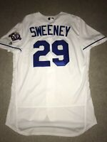 Team Issued Mike Sweeney Authentic Kansas City Royals 50th Anniv. Jersey Size 46