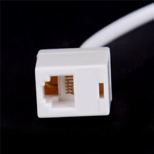 RJ11 6P4C Female To Ethernet RJ45 8P8C Male F/M Adapter Converter Cable Phone�€UK