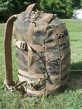 VGC USMC MARINE Military Army ASSAULT BACK PACK Woodland MARPAT ILBE 3 Day GEN 2