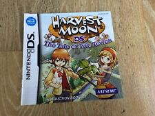 NINTENDO DS SPARE / REPLACEMENT MANUAL ONLY - HARVEST MOON TALE OF TWO TOWNS