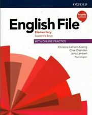English File Elementary Student's Book by Christina Latham-Koenig, Jerry Lambert and Clive Oxenden (2018, Paperback)