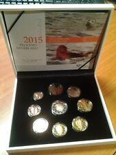 """Proofset Nederland 2015 met 2 Euro""""30 JAAR EUROPEESCHE VLAG"""""""