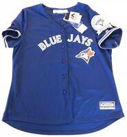Toronto Blue Jays 40th Season Women's 2XL XXL Majestic #7 UPTON JR. Jersey MLB