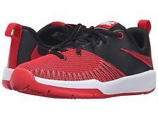 Nike Boys Sneakers   University Red/Black/White  Team Hustle Youth Size 41/2