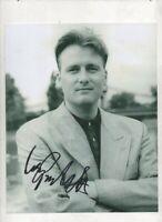 10 x 8 photo hand signed  GARY WEBSTER (MINDER) - AFTAL COA  - undedicated