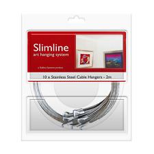 Stainless Steel Dropper Kit (2m) - Slimline Art Hanging System - GSL.HANSSC