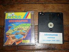 Jeu Amstrad CPC 6128 - GEOGRAPHIE - Loriciels
